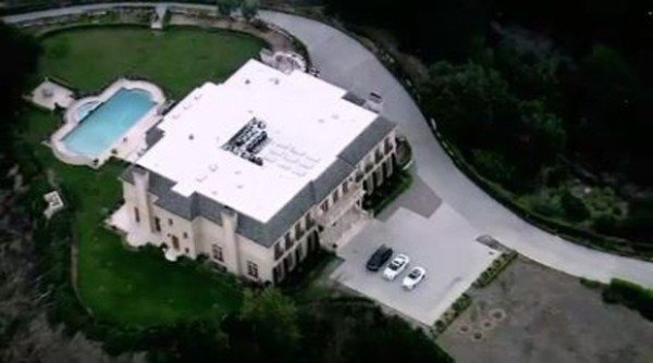 Saudi Prince Majed Abdulaziz Al-Saud Beverly Hills mansion