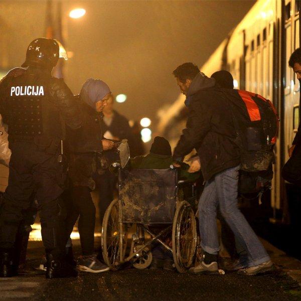 Slovenia refugees
