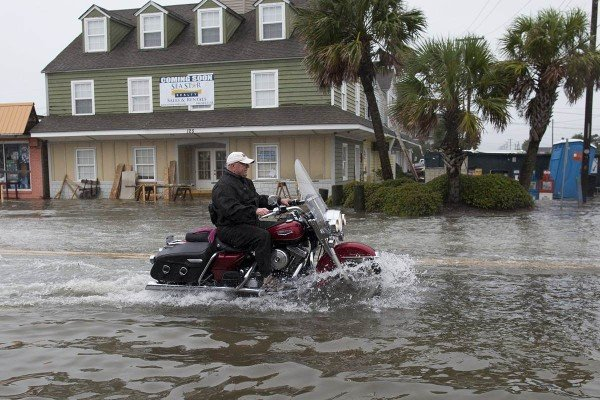 South Carolina flooding Hurricane Joaquin