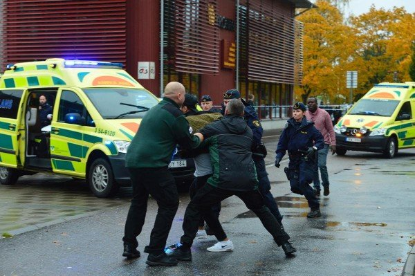 Trollhattan school attack Sweden