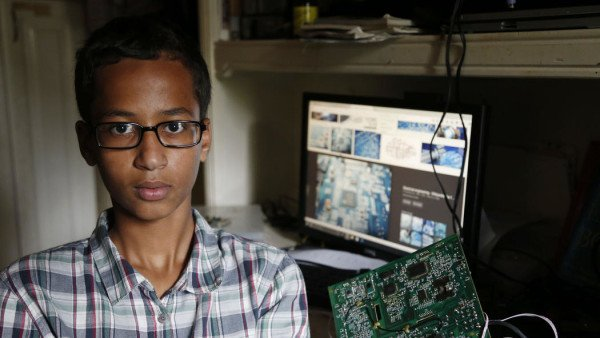 Ahmed Mohamed sues Irving City