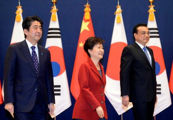 Asia trilateral summit November 2015