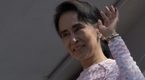 Aung San Suu Kyi's Party Wins Historic Majority