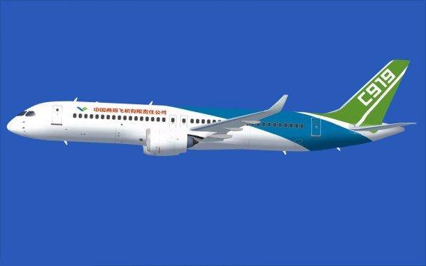 China C919 passenger jet