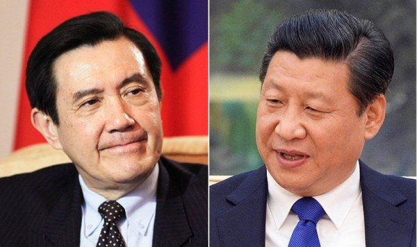 China and Taiwan summit Singapore 2015