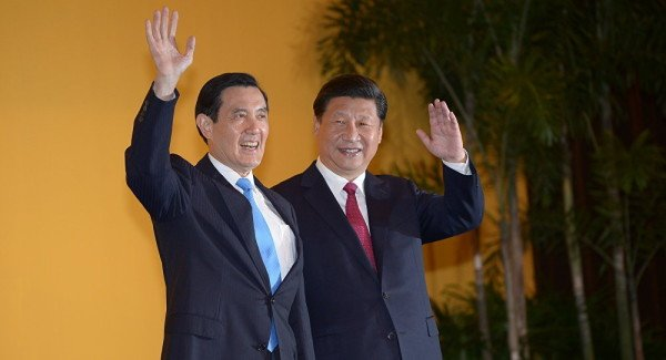 China and Taiwan talks in Singapore