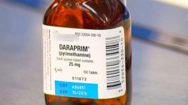Daraprim price 2015