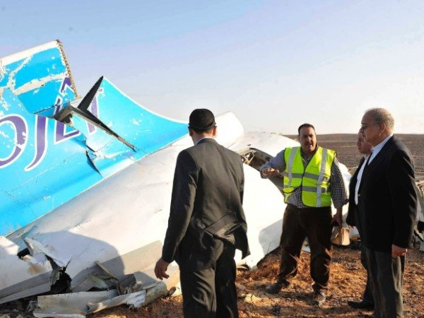 Egypt Sinai plane crash