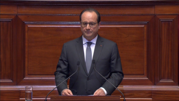 Francois Hollande speech Paris attacks