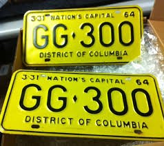JFK fatal limo license plates auction