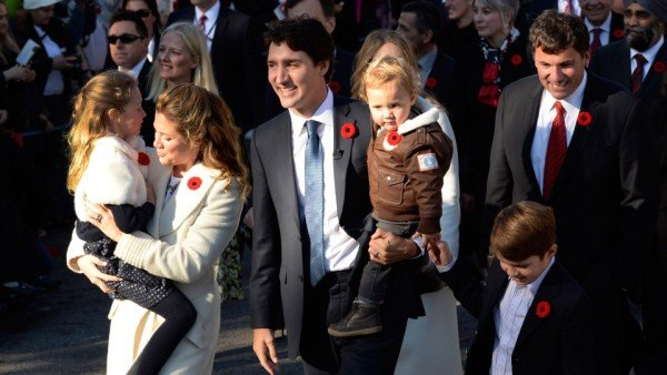 Justin Trudeau sworn in