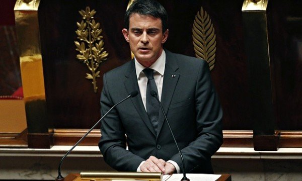 Manuel Valls French parliament Paris attacks