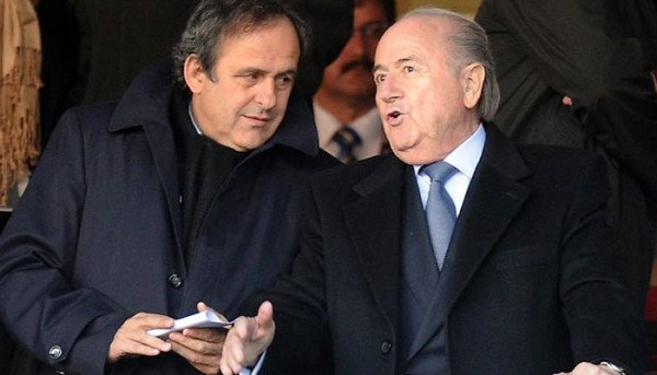 Michel Platini and Sepp Blatter FIFA suspension