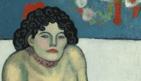 Pablo Picasso La Gommeuse