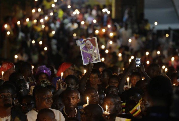 Pope Francis Honors Christian Martyrs in Uganda