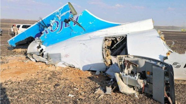 Sinai plane crash 2015