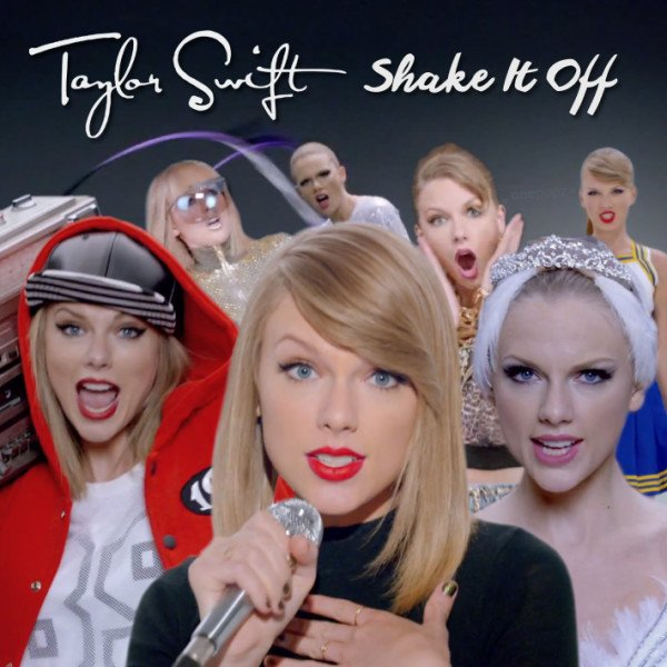 Taylor Swift Shake It Off lyrics copyright