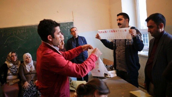 Turkey elections 2015 ballot counting
