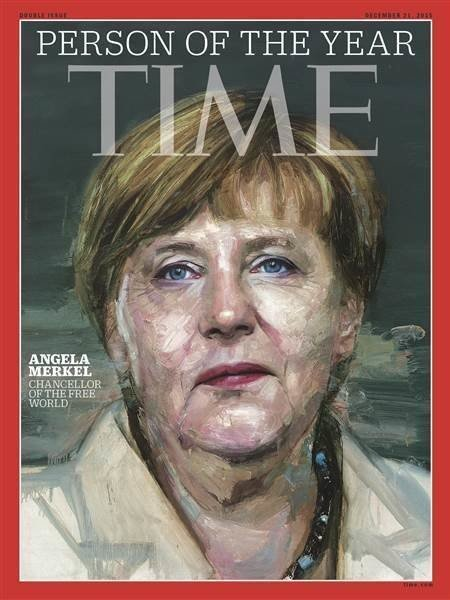 Angela Merkel Time Person of the Year 2015
