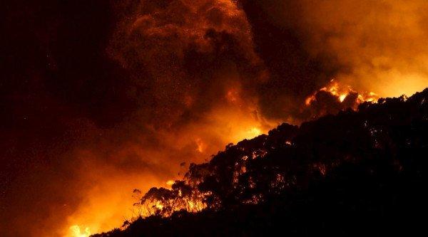 Australia bushfire Christmas Day