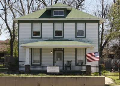 Bill Clinton childhood home Arkansas