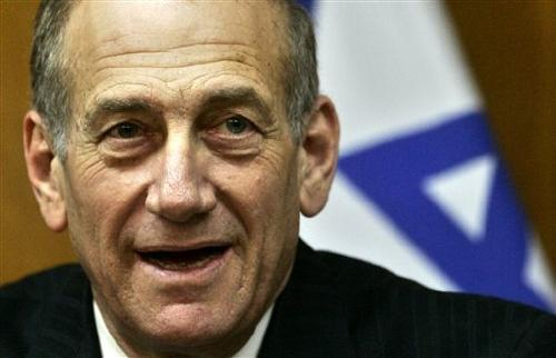 Ehud Olmert in jail for bribery
