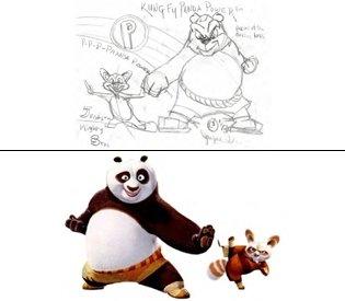 Jayme Gordon Kung Fu Panda copyright