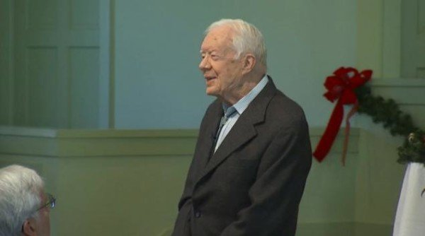 Jimmy Carter announces grandson death