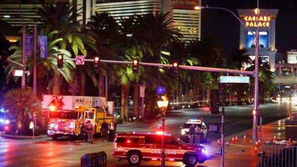 Las Vegas Strip car crash