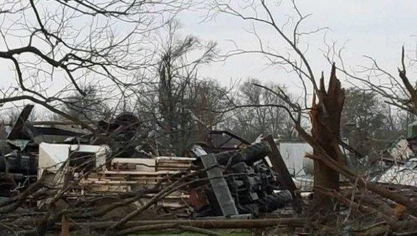 Mississippi tornado December 2015