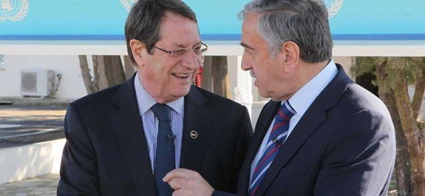 Nicos Anastasiades and Mustafa Akinci holiday address