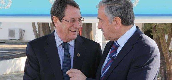 Nicos Anastasiades and Mustafa Akinci holiday address