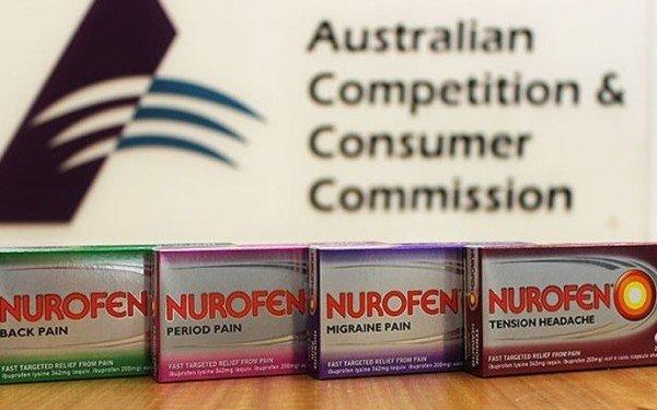 Nurofen Australia scandal