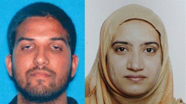 San Bernardino shooters Syed Farook and Tashfeen Malik