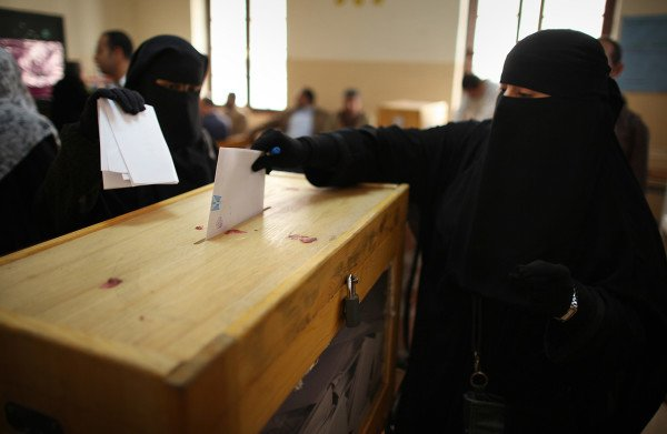 Saudi women voting for first time