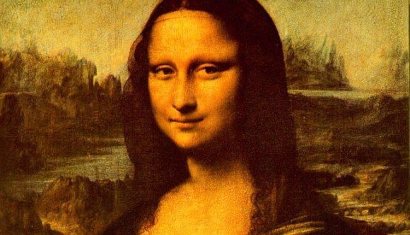 Secret portrait under Mona Lisa