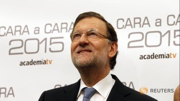 Spain elections 2015 Mariano Rajoy