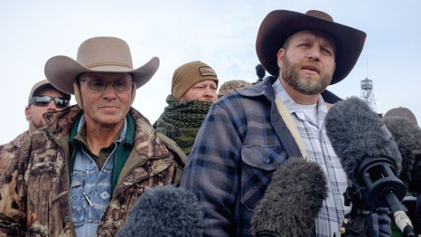 Ammon Bundy arrested January 2015