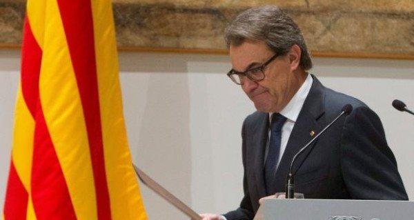 Artur Mas resignation