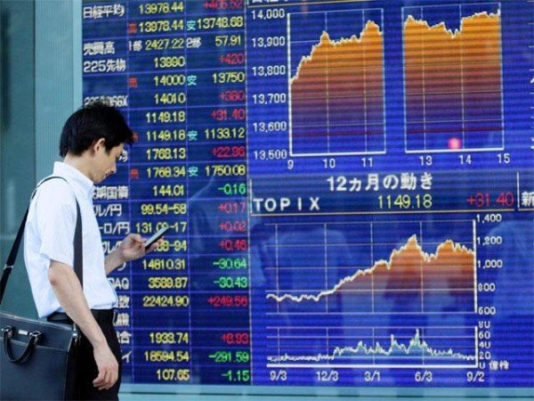 Asian stock markets recovery January 2016