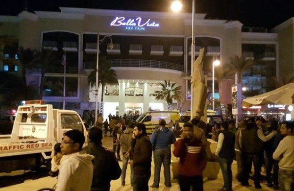 Bell Vista hotel attack Egypt
