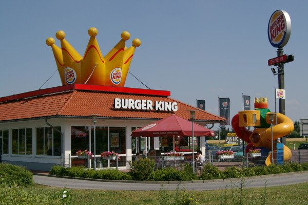 Burger King value menu January 2016