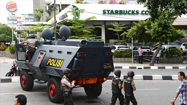Jakarta attacks suspects arrested