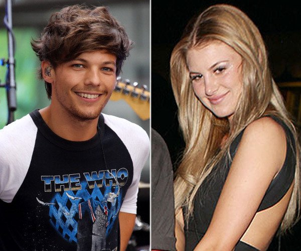 Louis Tomlinson and Briana Jungwirth baby