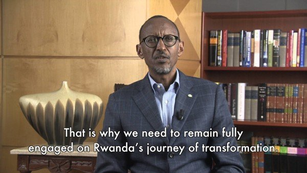 Paul Kagame New Year address 2016