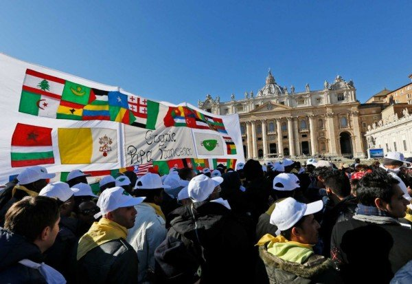 Refugees at Vatican