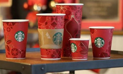 Starbucks holiday sales
