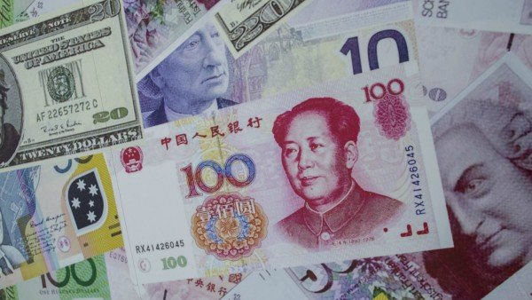 China foreign currency reserves plunge