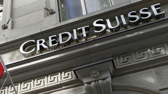 Credit Suisse job cut