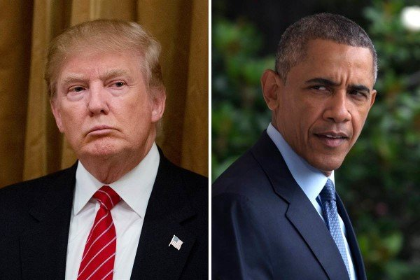 Donald Trump criticized by Barack Obama